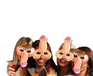 4 masques humoristiques zizi