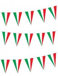 Guirlande drapeaux italiens 5 m