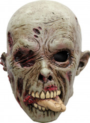 Masque zombie mangeur de chair adulte Halloween