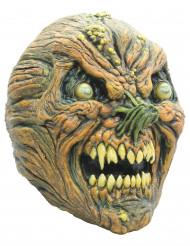 Masque citrouille en décomposition adulte halloween