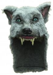 Masque loup gris adulte