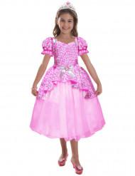 Déguisement Barbie™ princesse scintillante fille