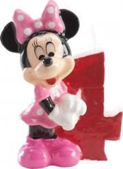 Bougie chiffre 4 Minnie™