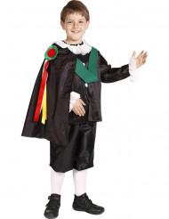 Déguisement de chanteur traditionnel espagnol garçon