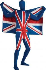 Déguisement seconde peau Royaume-Uni adulte