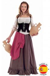 Déguisement Serveuse Médiévale Femme