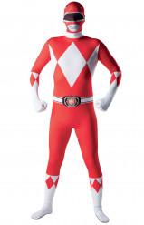 Déguisement seconde peau Power Rangers™ adulte