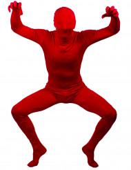 Déguisement Seconde peau rouge adulte