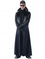 Déguisement manteau long noir homme
