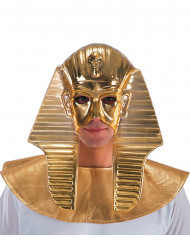 Demi masque doré pharaon homme