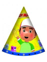 6 Chapeaux de fête Manny et ses outils™