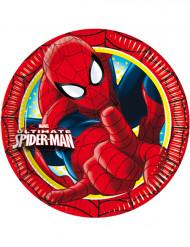 8 Assiettes Spiderman™ 23cm