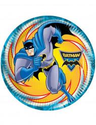 8 Assiettes Batman™ 23 cm