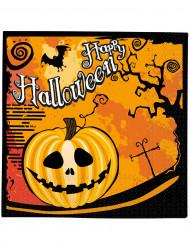 20 Serviettes en papier Halloween 33 x 33 cm