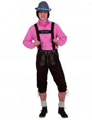 Déguisement traditionnel bavarois homme pantalon luxe