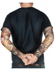 Manches faux tatouages