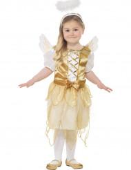 Déguisement ange doré fille Noël