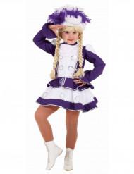 Déguisement majorette fille violette
