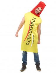 Déguisement Mayonnaise adulte