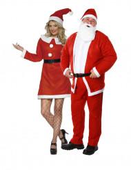 Déguisement de couple Mère et Père  Noël
