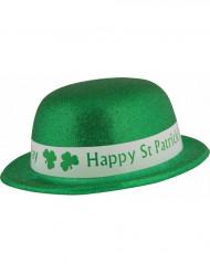 Chapeau melon pailletté Saint Patrick