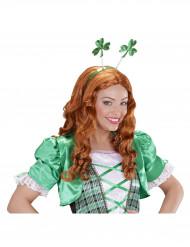 Serre-tête trèfles adulte Saint Patrick