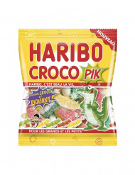 Sachet Bonbons croco pik Haribo