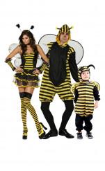 Déguisement de famille abeille