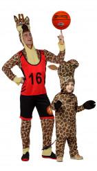 Déguisement de couple girafe père et fils