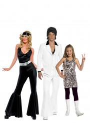 Déguisement de famille disco
