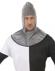 Cagoule médiévale adulte effet cotte de maille