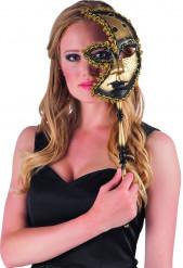 Demi-masque vénitien adulte