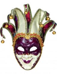Masque vénitien arlequin adulte