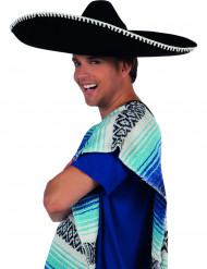 Sombrero noir adulte
