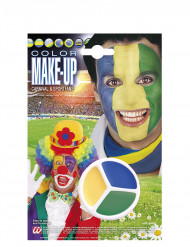 Maquillage supporter Brésil