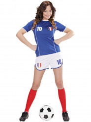 Déguisement footballeur France femme