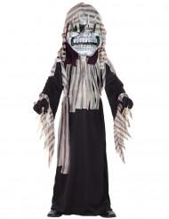 Déguisement squelette avec masque garçon