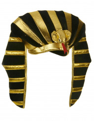 Coiffe roi égyptien adulte