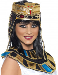 Coiffe reine égyptienne femme