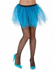 Tutu bleu turquoise femme