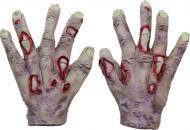 Mains de zombie vampire adulte