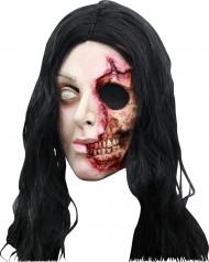 Masque femme visage arraché