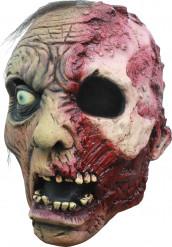 Masque 3/4 zombie brûlé homme