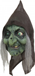 Masque 3/4 vieille sorcière