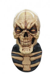 Masque intégral squelette sourire homme