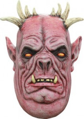 Masque 3/4 homme démoniaque bouffi