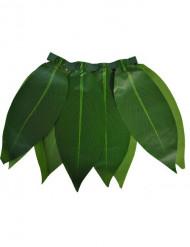 Jupe hawaïenne à feuilles vertes enfant
