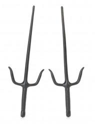 Couteaux de ninja en plastique 36 cm