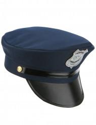 Casquette policier adulte