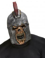 Masque intégral squelette combattant romain adulte Halloween